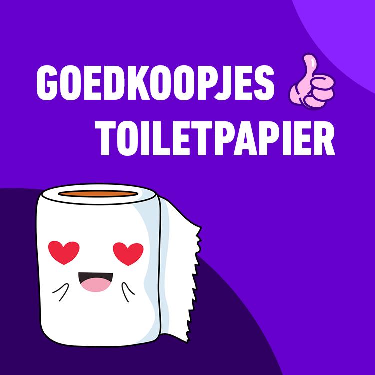 GOEDKOOPJES   TOILETPAPIER