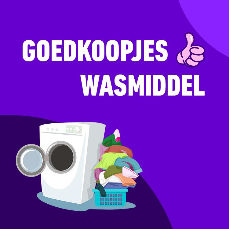 GOEDKOOPJES   WASMIDDEL
